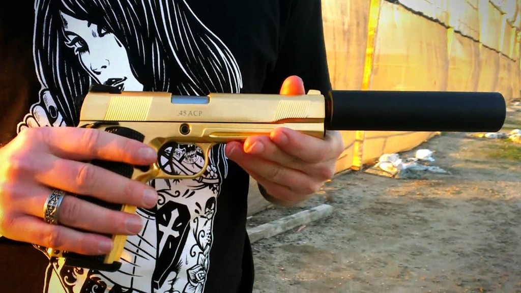 We TEch Gold 1911