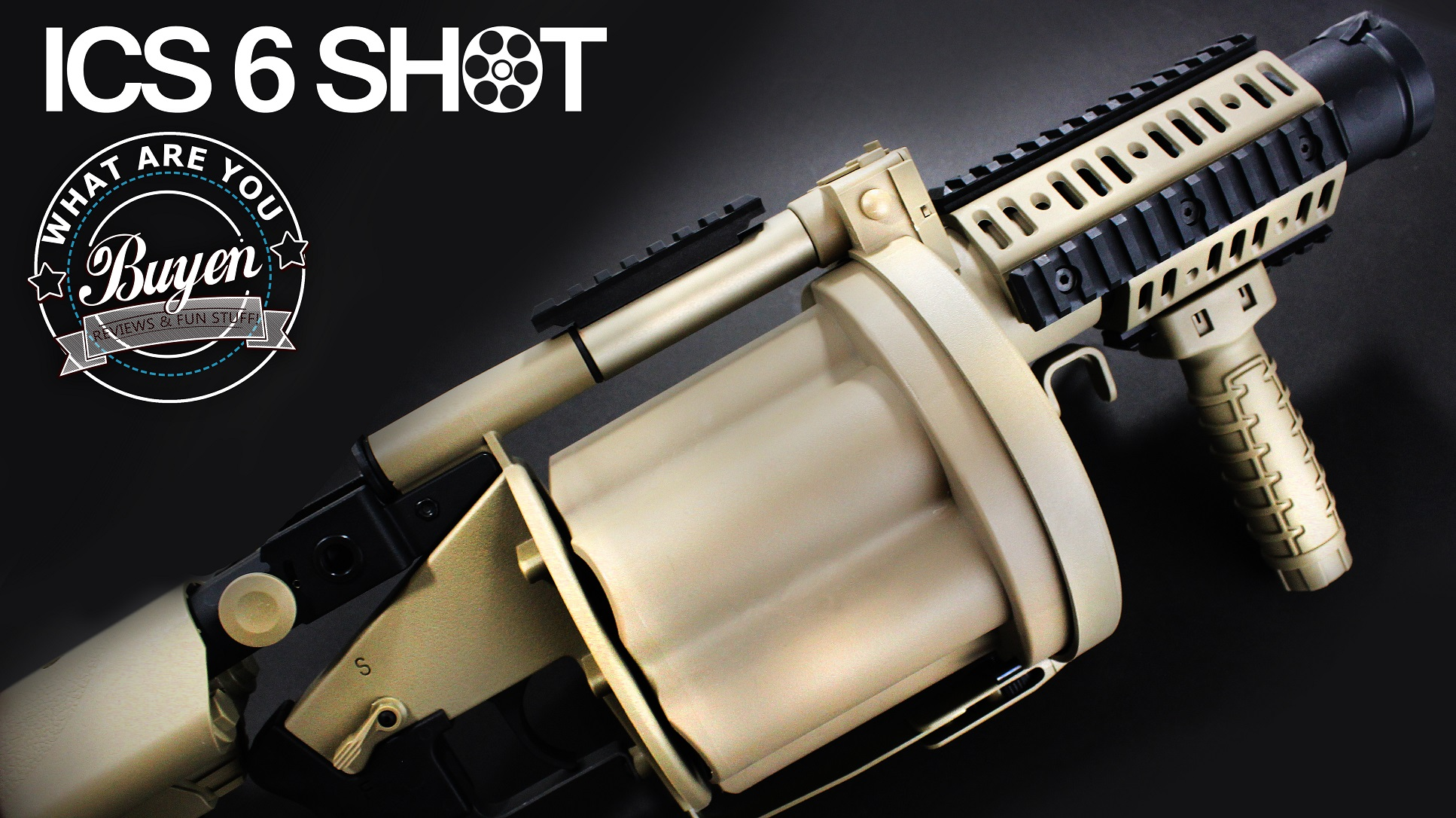 ICS 6 Shot Grenade Launcher