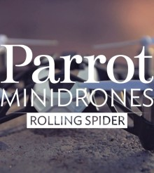 Parrot Mini Drone Explosion Video! Whoops