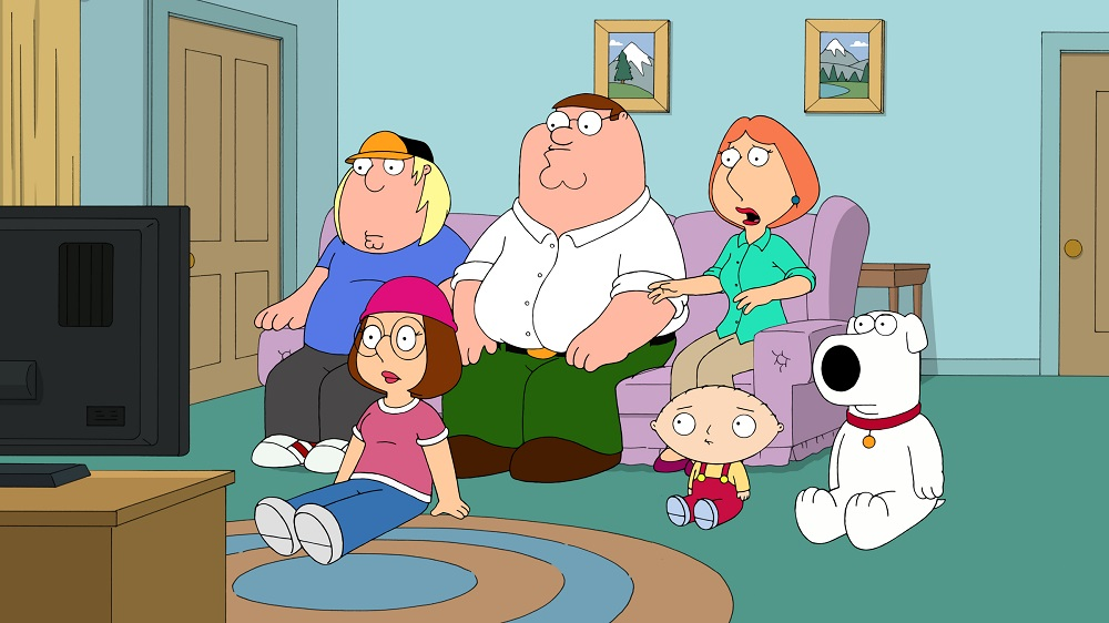 """FAMILY GUY: Brian and Stewie travel back in time to the pilot episode of FAMILY GUY to change history, and then to change history again, in the """"Back to the Pilot"""" episode of FAMILY GUY airing Sunday, Nov. 13 (9:00-9:30 PM ET/PT) on FOX.  FAMILY GUY ™ and © 2011 TCFFC ALL RIGHTS RESERVED."""