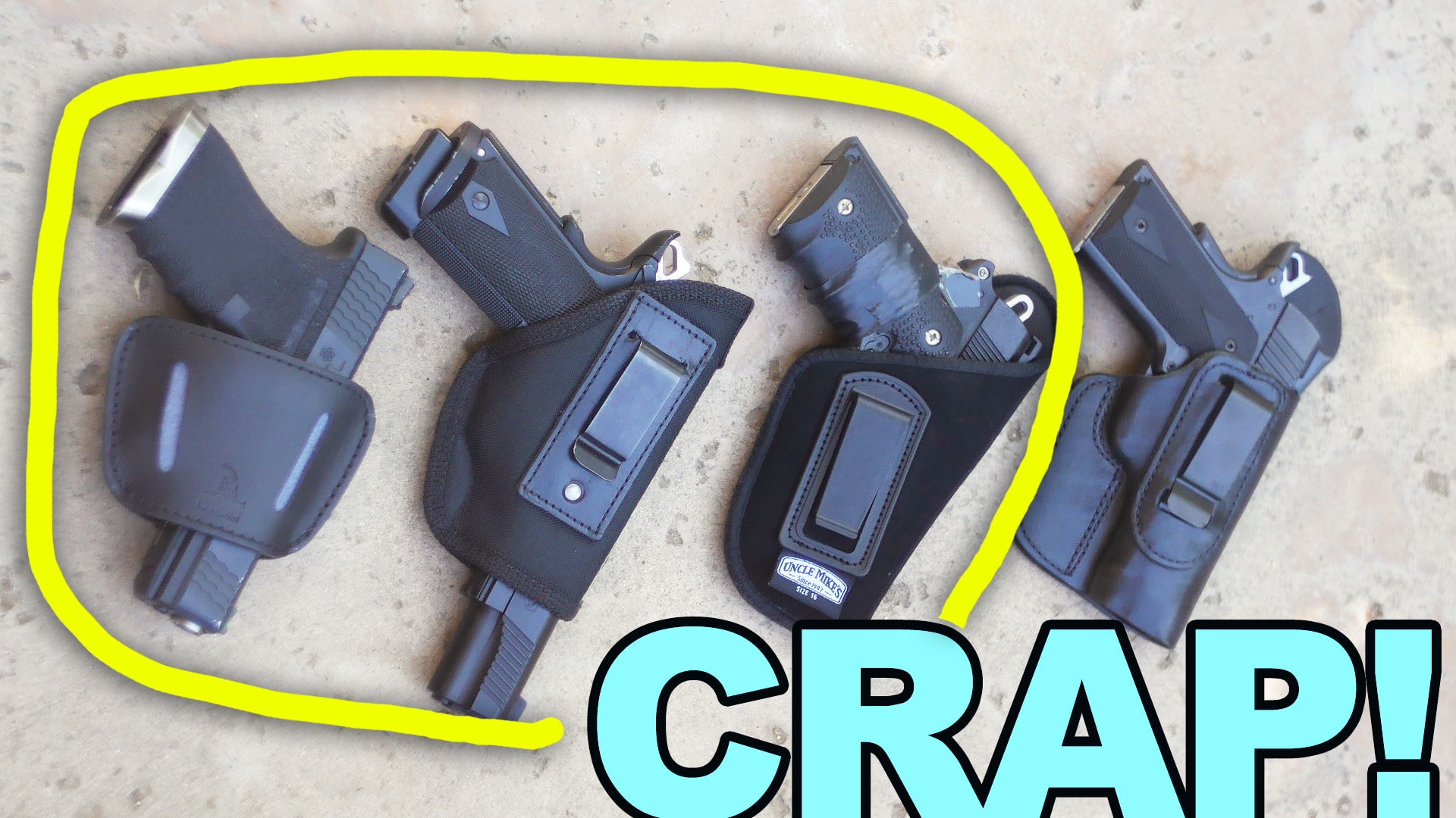 Cheap Amazon Holsters NO GOOD