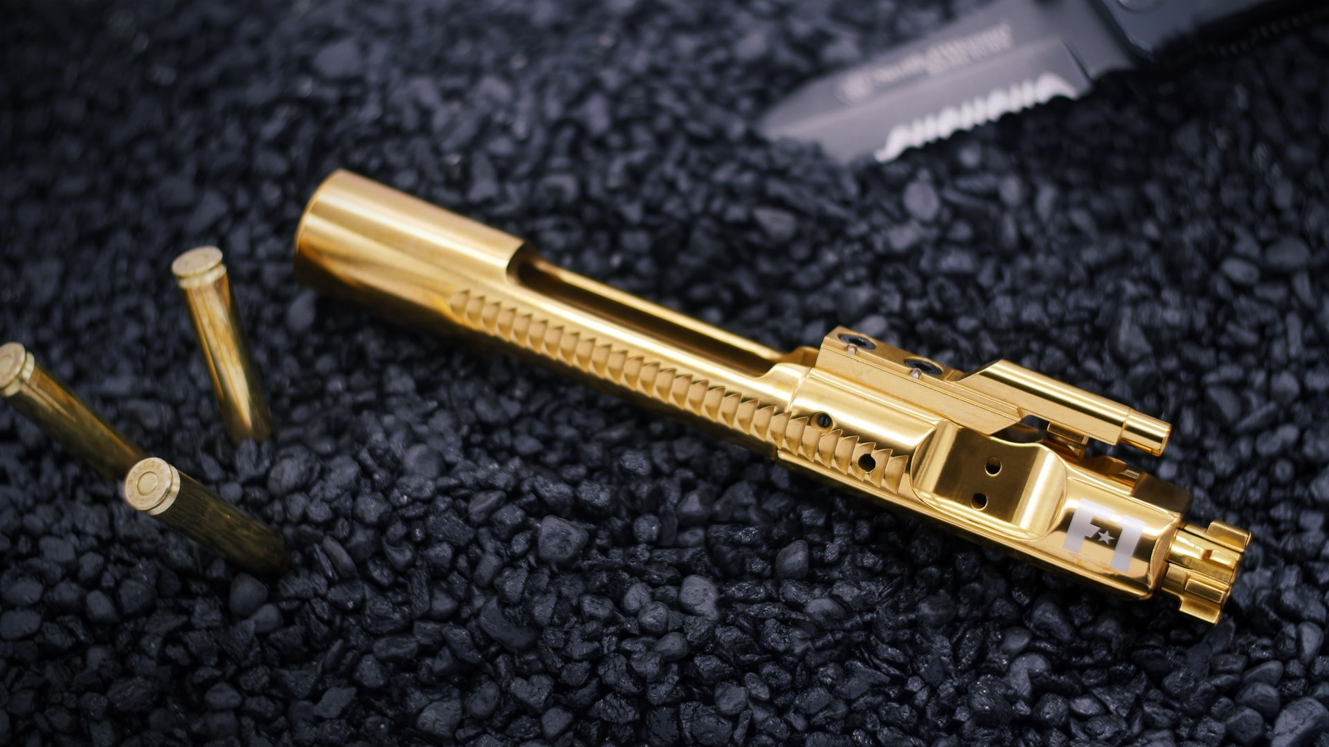 Top 7 Reasons You Need a Gold TiN BCG for Your AR15 / AR10