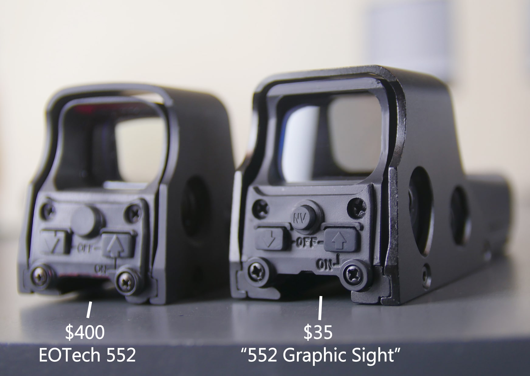 Fake EOTech vs Real $589 Sight Parallax Still an Issue? Best EOTech Clone!