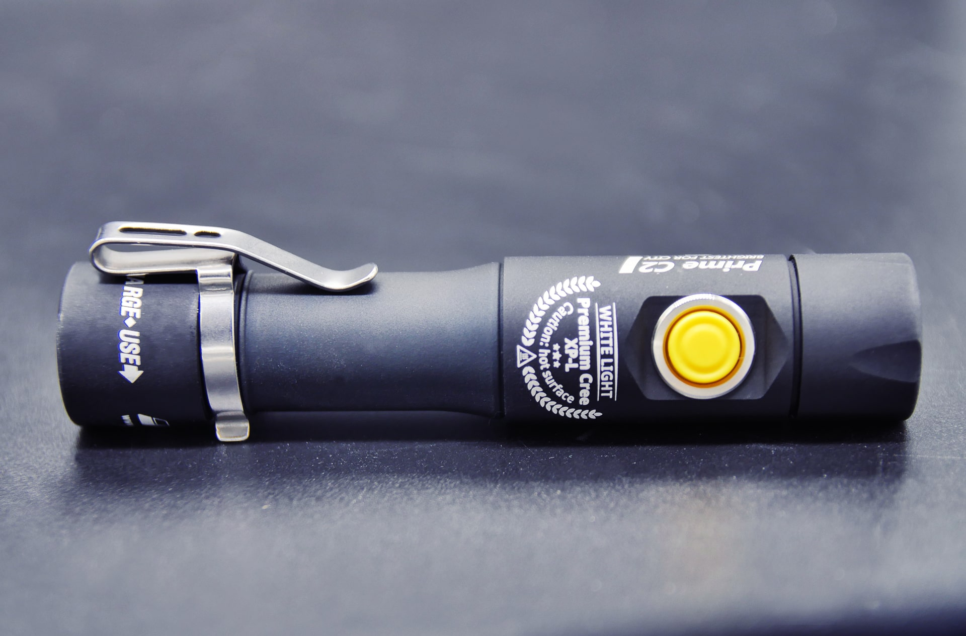 Prime C2 Magnet USB 1250 Lumens Pocket Flashlight Review